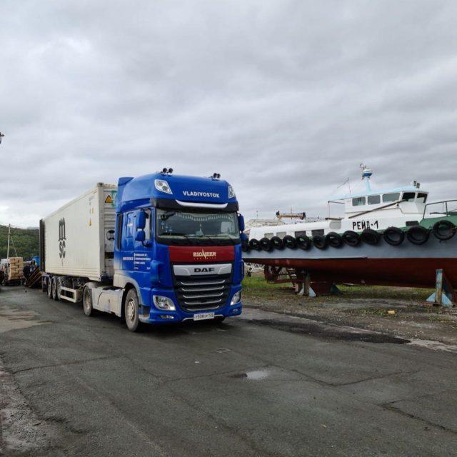 PINK SALMON поедет в контейнере в Москву. Возим!🚛🚚